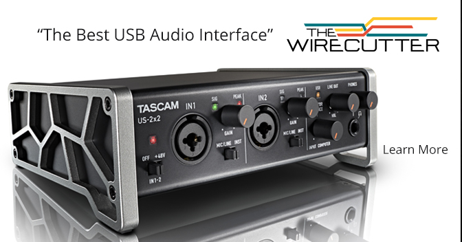 The Wirecutter Best USB Audio Interface