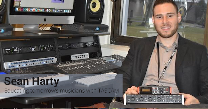 New York Students Learn Professional Recording with TASCAM